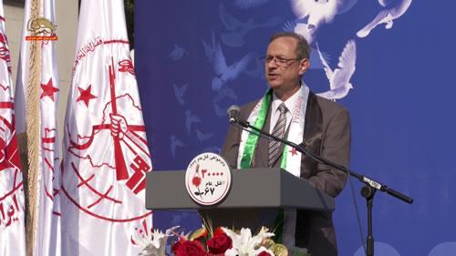 دکتر تغلیب الرهابی، تظاهرات در حمایت از جنبش دادخواهی قتلعام ۶۷