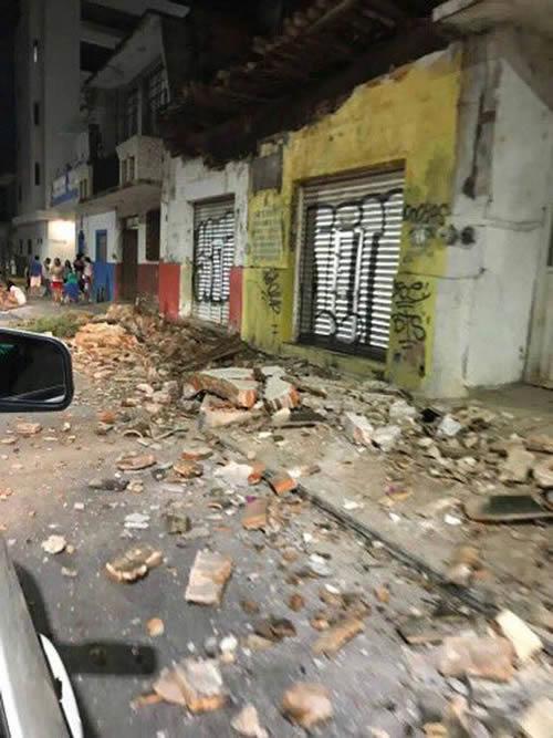 Hundreds of buildings have been damaged or destroyed