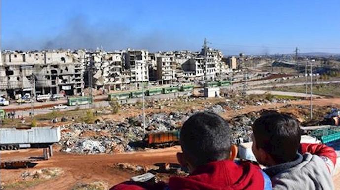 جنایت جنگی در حلب