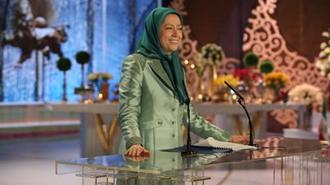 سخنرانی نوروزی مریم رجوی در جمع مجاهدان اشرفی