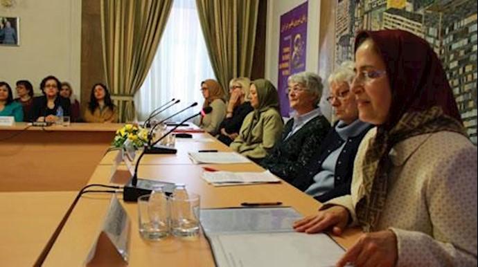 گردهمایی همبستگی با زنان ایران  در برلین