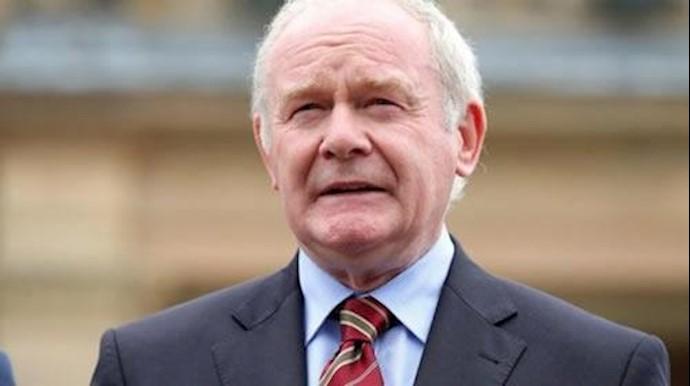 مارتین مکگینس فرمانده سابق ارتش جمهوریخواه ایرلند