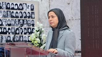 دیدار مریم رجوی از نمایشگاه عکس ۱۵۰ سال مبارزه زنان ایران در راه آزادی و آرمان برابری
