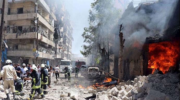جنایات جنگی در سوریه توسط اسد و همپیمانان او