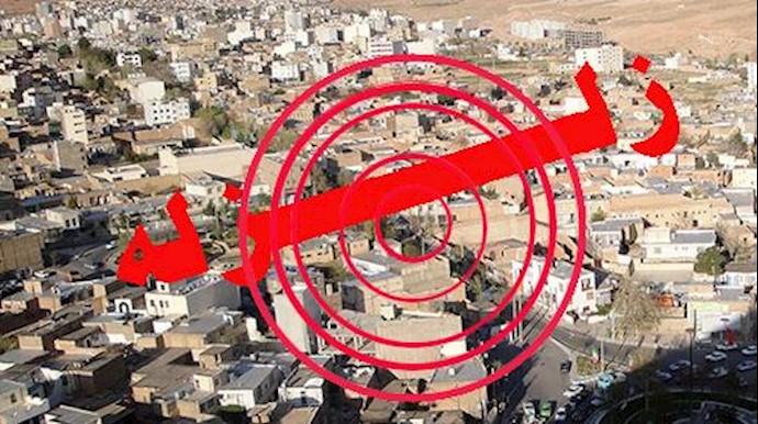 زلزله در سمنان