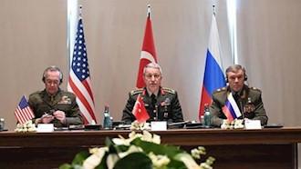 رؤسای ستاد ارتشهای آمریکا، روسیه و ترکیه