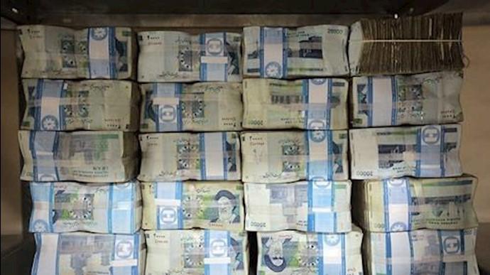دزدی و اختلاس توسط ایادی رژیم