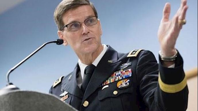 ژنرال جوزف ووتل فرمانده نیروهای آمریکایی در خاورمیانه