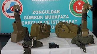 دستگیری یک دلال رژیم به اتهام قاچاق اسلحه در ترکیه