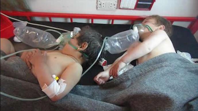 بمباران شیمیایی خان شیخون توسط رژیم جنایتکار اسد