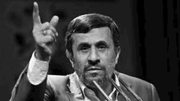 پاسدار محمود احمدی نژاد