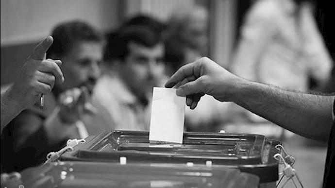 صندوق شعبده انتخابات رژیم آخوندی