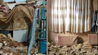 تصویر زلزله در خراسان