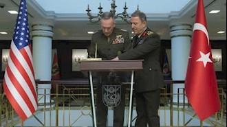 دیدار رؤسای ستاد ارتش ترکیه و آمریکا