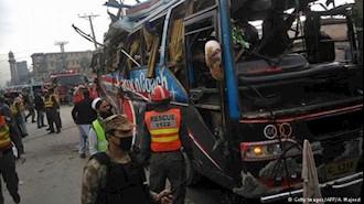 تلفات انفجار بمب در ایالت بلوچستان پاکستان به ۲۵ نفر رسید
