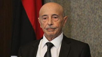 عقیله صالح رئیس پارلمان لیبی