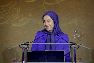 سخنرانی مریم رجوی در مهمانی افطار در اورسورواز