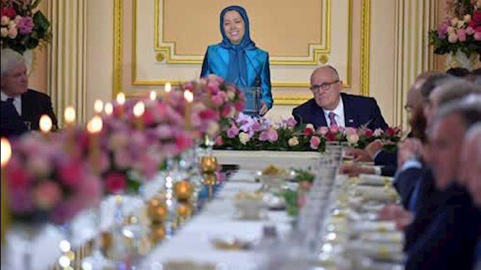 مریم رجوی؛ جلسه ویژه شخصیتها و هیأتهای پارلمانی