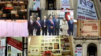 نمایشگاه یادبود شهیدان قتلعام 67 در پاریس