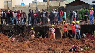 تلفات رانش زمین در فری تاون، پایتخت سیرالئون
