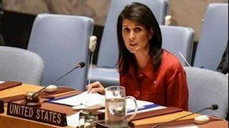 نیکی هیلی سفیر آمریکا در سازمان ملل