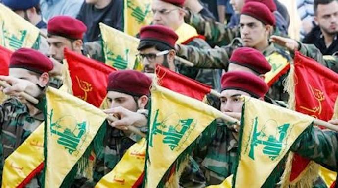 حزب الشیطان لبنان بازوی تروریستی رژیم آخوندی