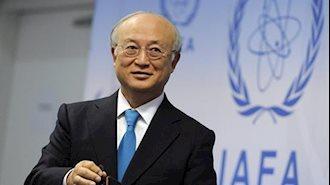 یوکیا آمانو مدیرکل آژانس بینالمللی انرژی اتمی- آرشیو