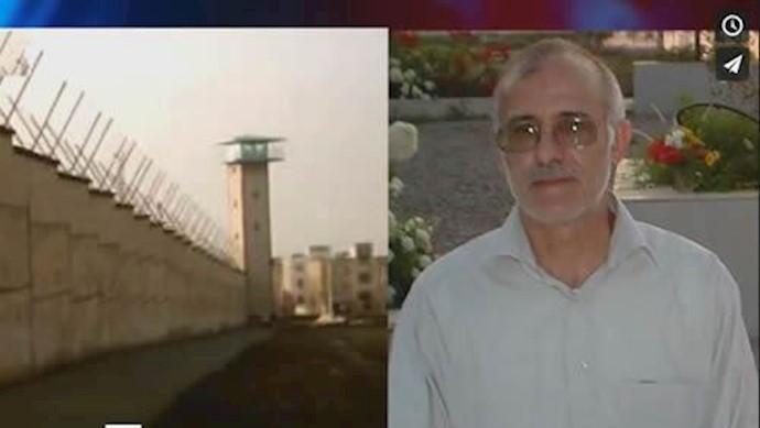 - زندانی سیاسی علی معزی