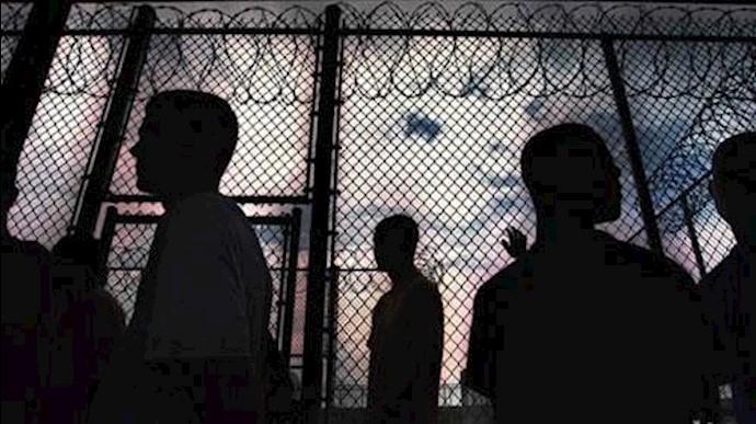 غارت اموال زندانیان توسط گارد ضدشورش زندان