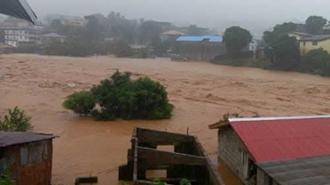 سیل و رانش زمین در پایتخت سیرالئون