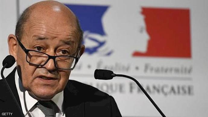 ژان ایو لودریان وزیر خارجه فرانسه