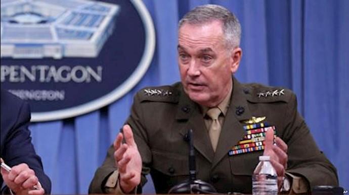 ژنرال دن فورد رئیس ستاد مشترک ارتش آمریکا