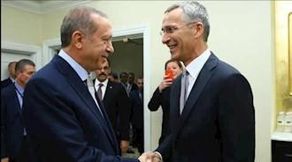 دیدار رئیسجمهور ترکیه با دبیرکل ناتو