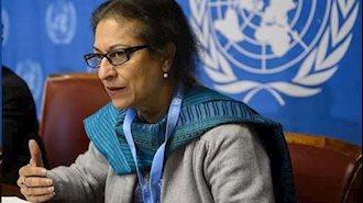 عاصمه جهانگیر گزارشگر ویژه سازمان ملل در امور ایران