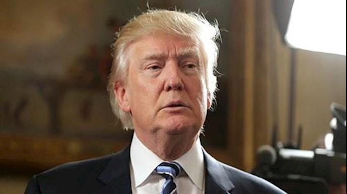 دونالد ترامپ رئیسجمهور آمریکا