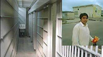 زندانی سیاسی صابر ملک رئیسی در زندان اردبیل