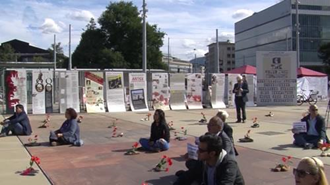 اکسیون و نمایشگاه قتل عام 67 در ژنو