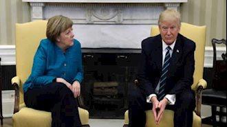 دونالد ترامپ و آنگلا مرکل