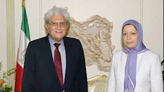 مریم رجوی - محمود شریف بسیونی
