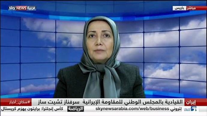 سروناز چیتساز مسئول کمیسیون زنان شورای ملی مقاومت ایران