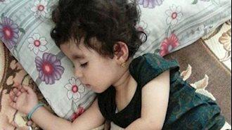 دختر 2ساله بر اثر شدت سرما جان باخت