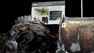 بازدید اعضای شورای امنیت از موشکهای ارسالی رژیم ایران به یمن در واشنگتن