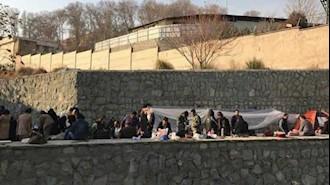 تحصن خانواده های زندانیان سیاسی