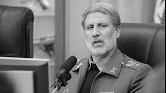 وزیر دفاع رژیم
