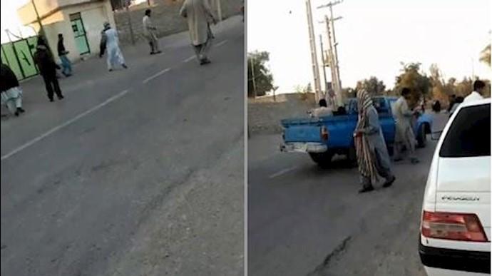 تهاجم جوانان بلوچ به پاسگاه رژیم در ایرانشهر