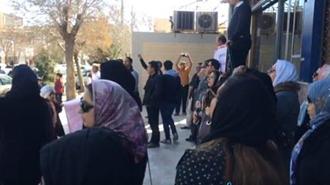 تجمع اعتراضی غارتشدگان کاسپین کرمان