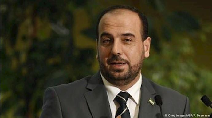 نصر الحریری سرپرست هیأت مذاکره کننده اپوزیسیون سوریه