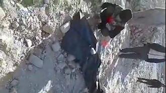 قتل یک شهروند بیگناه توسط مأموران شهرداری رژیم در تهران