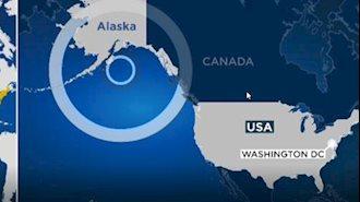 زلزله هشت دو دهم ریشتری در خلیج آلاسکا