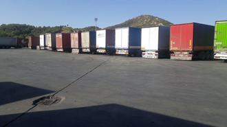 اعتصاب رانندگان کامیون در ارومیه